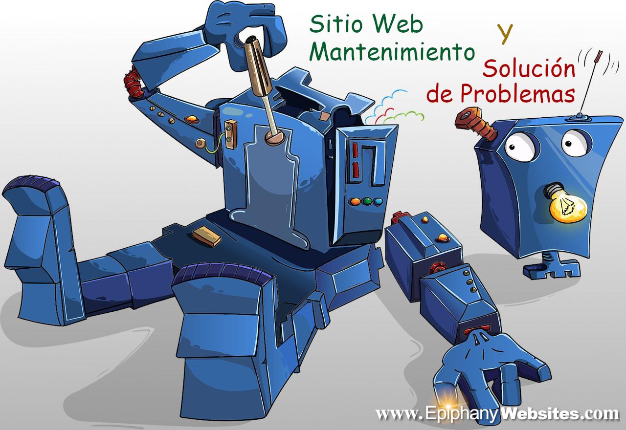 website mantenmiento